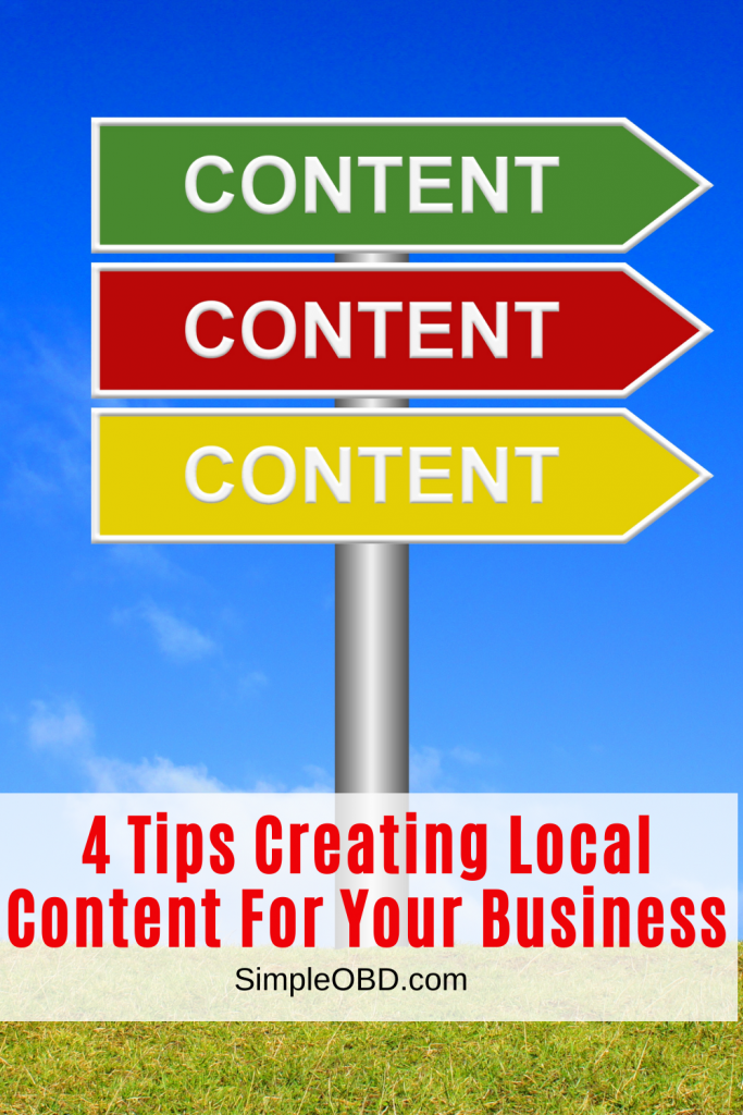 content creation for business