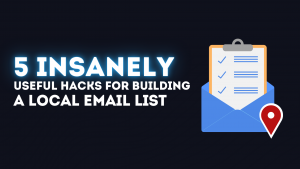 Building A Local Email List